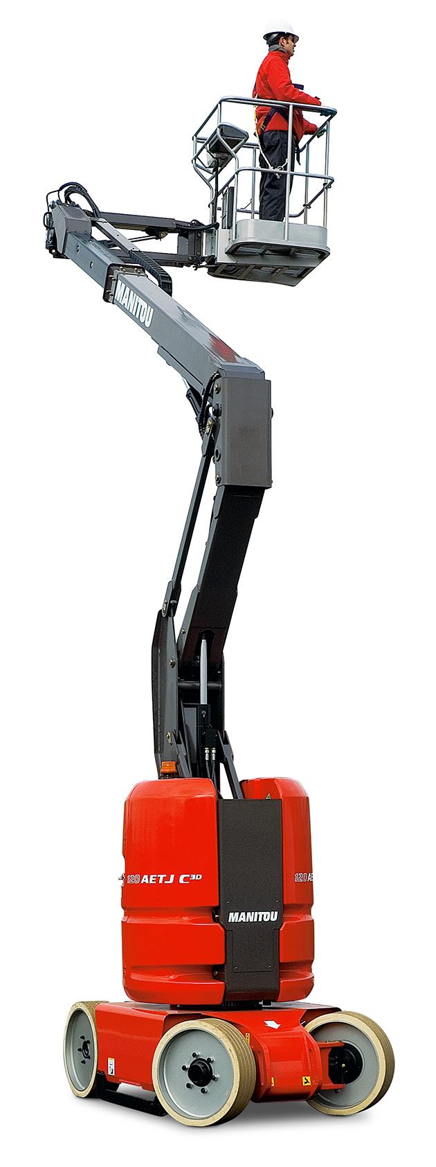 120 AETJ-C / 12米曲臂式電動高空作業車 14