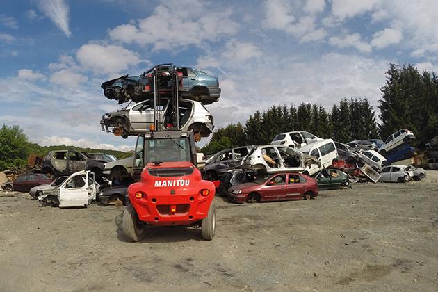 【3.0噸】 柴油2驅越野堆高機 9