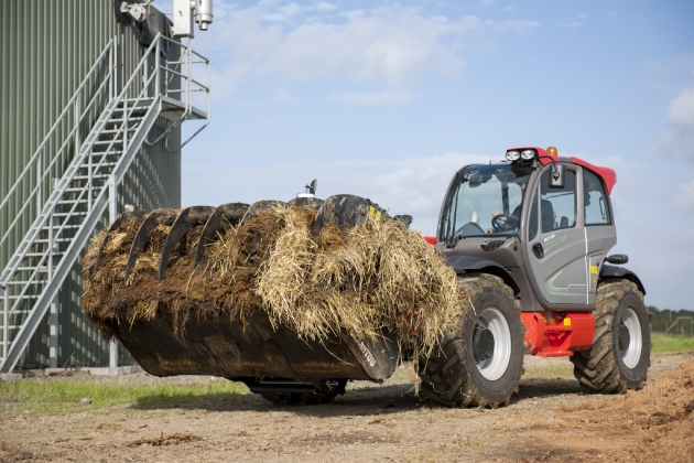 大容量農用抓斗 8