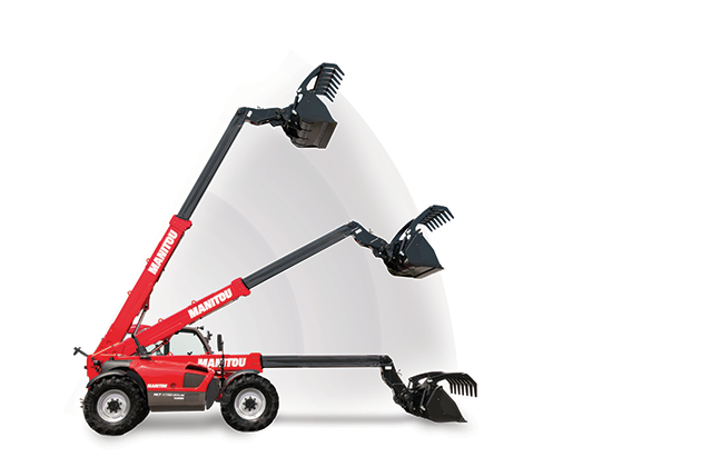 MLT-X 735 / 3.5噸 7米 農用型伸縮臂 3
