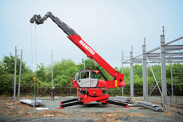 MRT-X 3050P+ / 5噸30米 旋轉型伸縮臂 5
