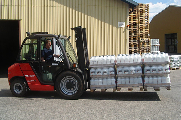 【3.5噸】半工業型柴油堆高機 4